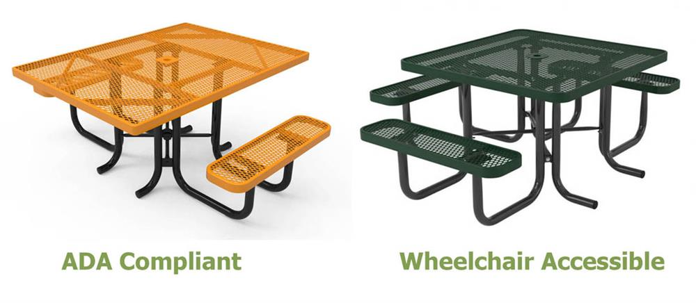 Choosing The Right Ada Compliant Picnic Table