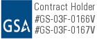 General Services Administration logo for Parktables.com - a division of Furniture Leisure Inc. #GS-03F-0166V #GS-03F-0167V