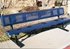 Picture of 6 ft. Bench with Back - Thermoplastic Coated Steel - Perforated - Portable