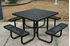 Picture of Square Thermoplastic Steel Picnic Table - Ultra Leisure Style  - Portable