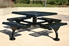 Picture of Square Thermoplastic Steel Picnic Table - Ultra Leisure Style -  Web Style - Surface or Portable