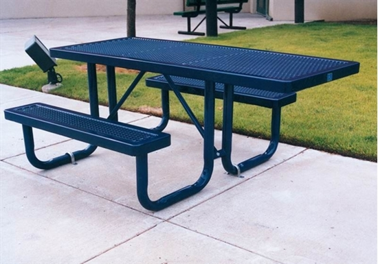 6 Ft Ada Wheelchair Accessible Thermoplastic Picnic Table