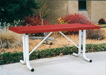 Picture of 6 ft Thermoplastic Picnic Table - No Seats - Portable