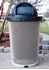 32 Gallon Plastic Coated Expanded Metal Tapered Trash Receptacle