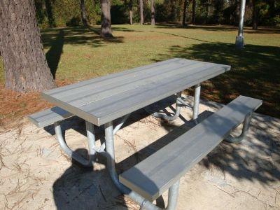 Ft Rectangular Aluminum Picnic Table Welded Frame - Aluminum picnic table frame