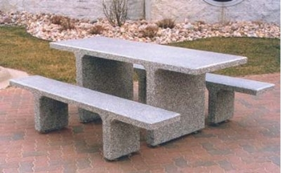 Ft ADA Wheelchair Accessible Concrete Picnic Table Unattached - 7 foot picnic table