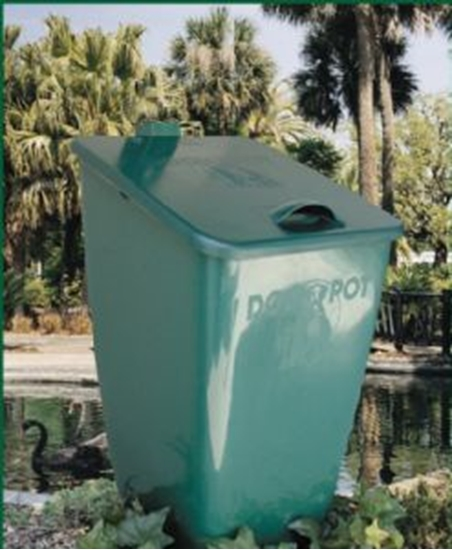 Picture of Dogipot Accessories - 10 Gallon Poly Waste Receptacle