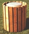Picture of Frame Only for 32 Gallon Trash Can - Inground Mount