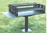 Picture of Group Park BBQ Grill with 1008 sq. inch Cooking Surface - Pedestal Inground Mount