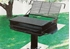 Picture of Group Park BBQ Grill with 1368 sq. inch Cooking Surface - Pedestal Inground Mount
