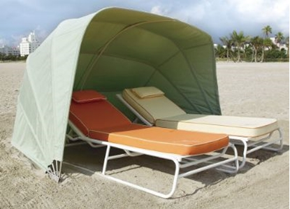 Picture of Fiberbuilt Beach Cabana - Marine Grade Fabric