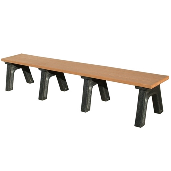 Picture of 8 Ft. Recycled Plastic Bench without Back - Portable