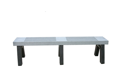 Picture of 6 Ft. Recycled Plastic Bench without Back - Elite Style - Portable