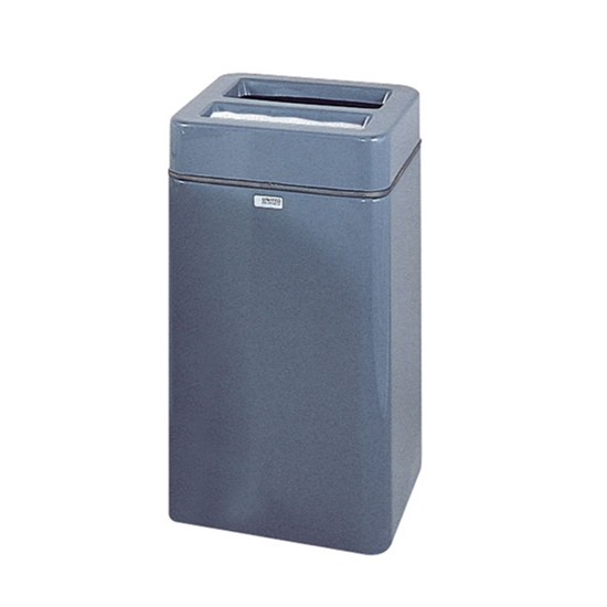 20 gallon fiberglass ash and trash receptacle portable by park tables - Rd trash can for sale ...