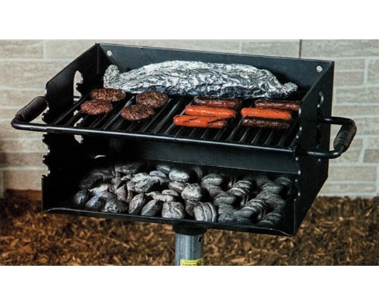 Picture of Flip Grate Park Grill - 300 sq. inch Cooking Surface - Inground Mount