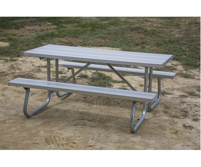 12 Ft. Rectangular Aluminum Picnic Table