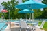 Picture of 7.5 Ft. Octagonal Market Umbrella - Aluminum Ribs - Marine Grade Fabric