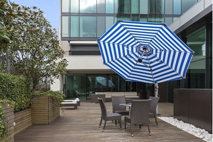 Picture of 13 Ft. Octagonal Cantilever Umbrella - Aluminum Frame - Marine Grade Fabric