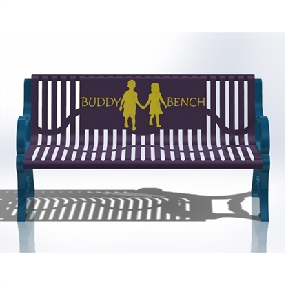 5 Ft. Buddy Bench