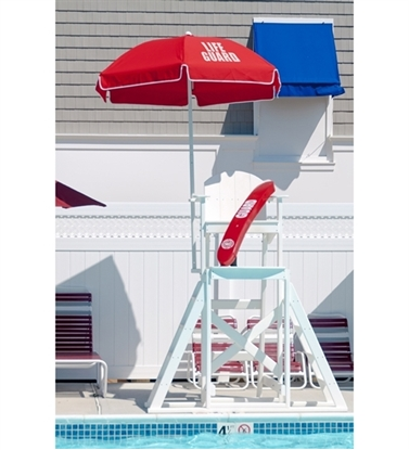 Picture of 6.5 ft. Lifeguard Umbrella - Acrylic Canopy