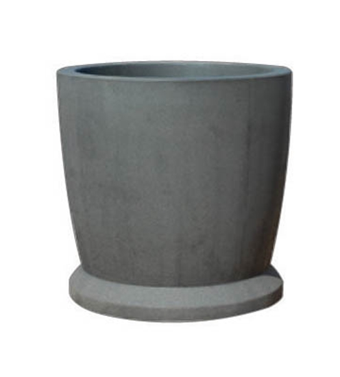 "Picture of 36"" Commercial Round Concrete Planter - Portable"