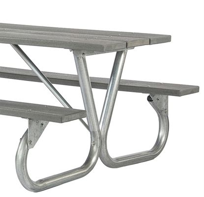 Picnic Table Frame Kits Commercial Metal Frames - Commercial picnic table frames
