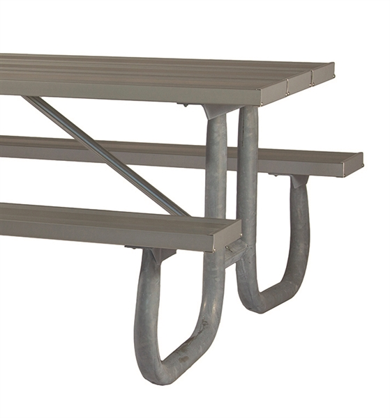 Picture Of ADA Frame Kit For 12 Ft Picnic Table   Welded 2 3/8