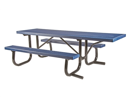 picnic table frame kits - commercial metal frames