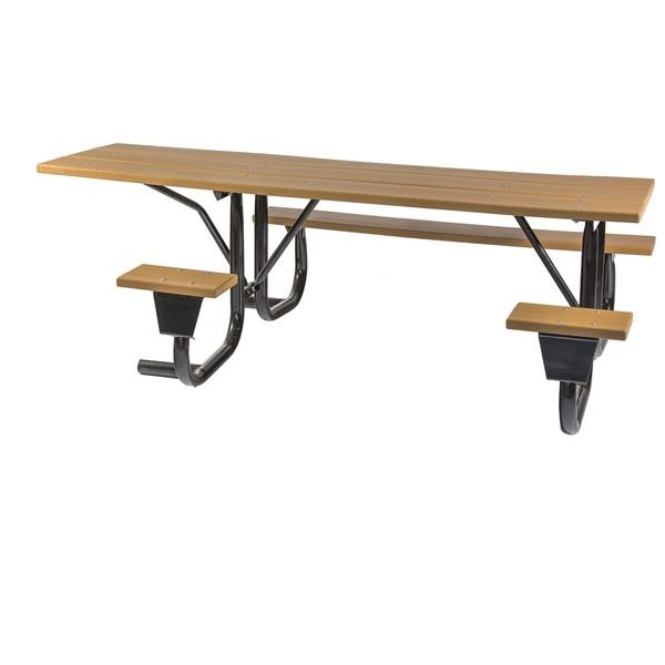 Ada Frame Kit For 8 Ft Picnic Table Side Access Welded