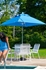 Picture of 7.5 ft. Square Market Umbrella - Fiberglass Ribs - Marine Grade Fabric