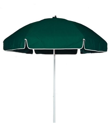 Picture of 6.5 ft. Fiberglass Beach Umbrella - Acrylic Canopy