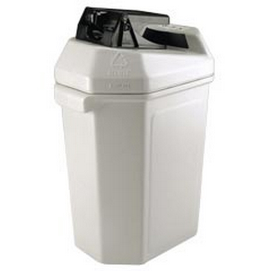 Picture of Can Crusher Recycling Receptacle - 30 Gallons - Portable