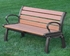 4 Ft. Recycled Plastic Bench - Quick Ship - Portable