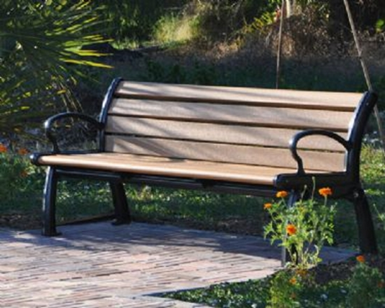 Picture of 5 ft. Recycled Plastic Bench - Quick Ship - Portable
