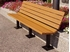 6 Ft. Recycled Plastic Bench - Quick Ship - Surface Mount