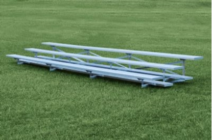 Picture of 15 Foot 3 Row Aluminum Bleacher - Quick Ship - Portable