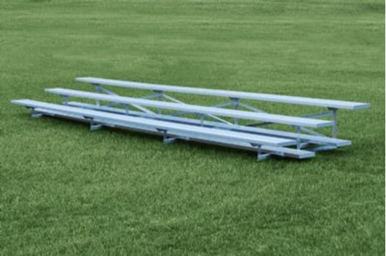 Picture of 27 Foot 3 Row Aluminum Bleacher - Quick Ship - Portable