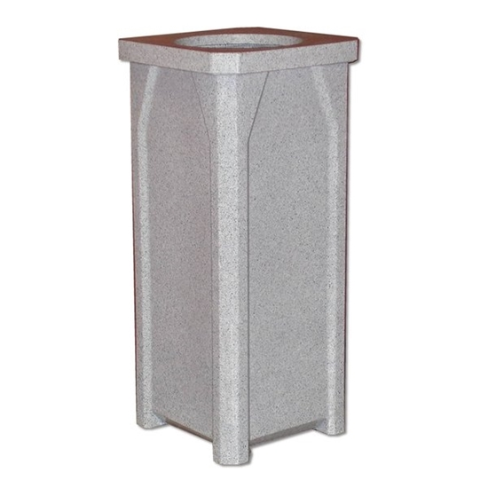 22 Gallon Square Trash Can