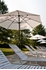 7.5 ft. Octagonal Crank Market Umbrella - Fiberglass Ribs
