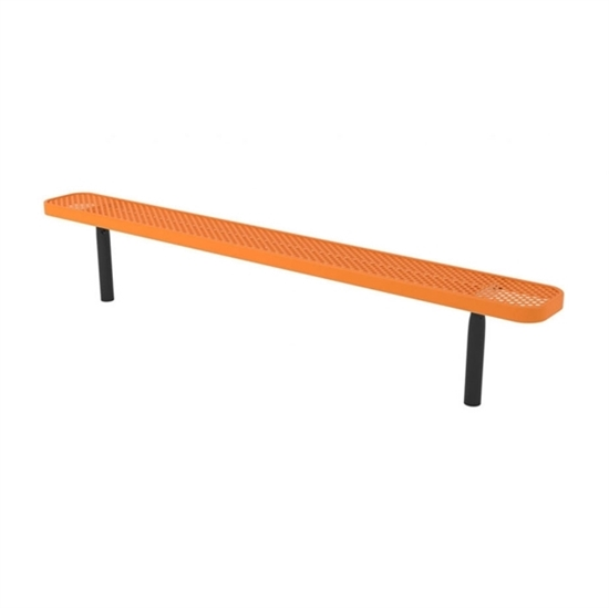8 ft. Bench without Back - Ultra Leisure Perforated