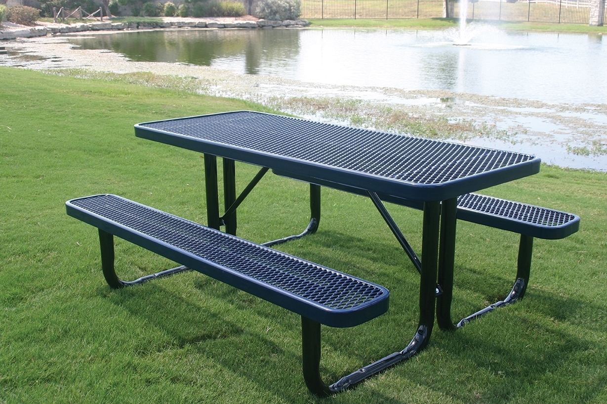 Steel Picnic Tables Best Home Interior - Stainless steel picnic table