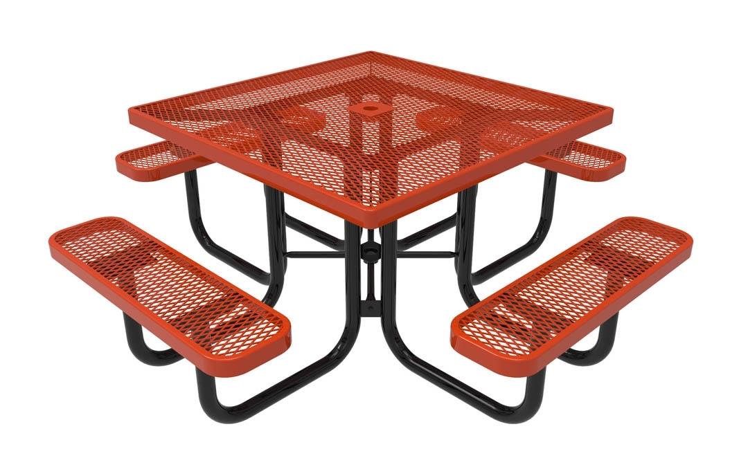 Rhino Square Picnic Table Thermoplastic