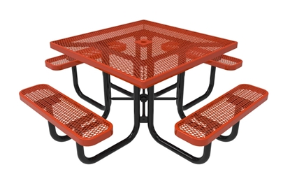 RHINO Square Picnic Table Thermoplastic