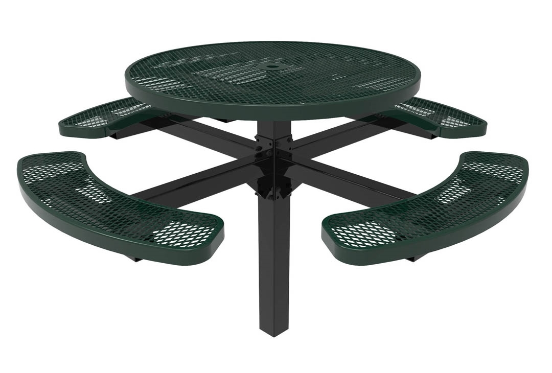 RHINO Round Picnic Tables   Pedestal Picnic Table