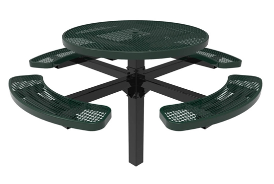 RHINO Round Picnic Tables - Pedestal Picnic Table