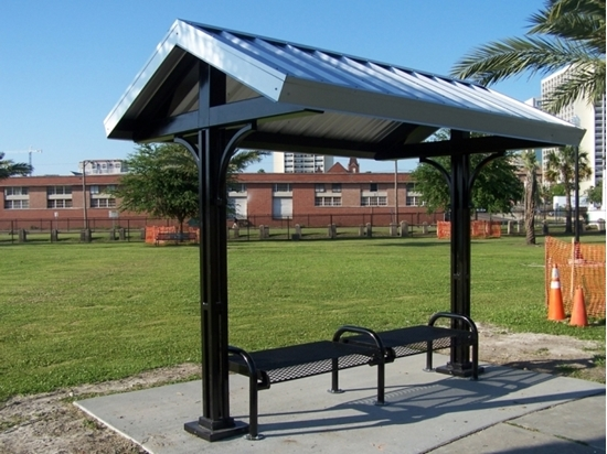 Picture of 8x12 Foot All-Steel Mini Shelter - Surface Mount