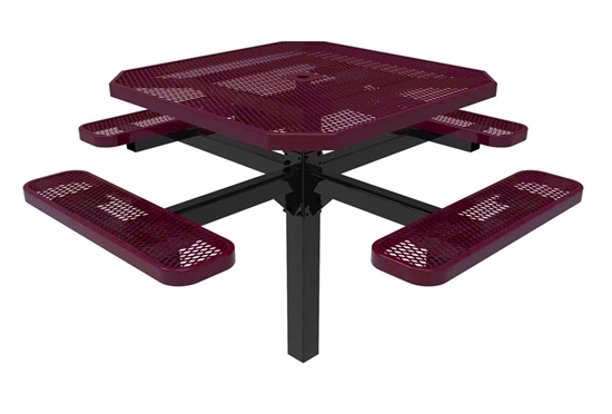 Octagonal Pedestal Picnic Table ELITE Series