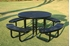 ELITE Series Round Picnic Table Thermoplastic Metal