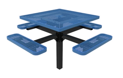 ELITE Series Pedestal Picnic Table Thermoplastic