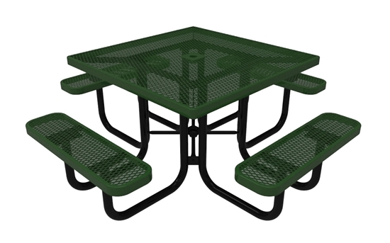 ELITE Series Square Picnic Table Thermoplastic